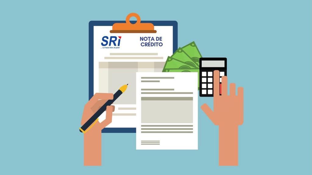 ¿Cómo solicitar devolución de impuestos del SRI? – Notas de crédito